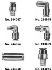 Grease Fittings Nylon Tubing 117